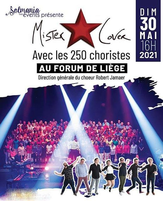 Mister Cover et les 200 choristes, 23 January | Event in Liège | AllEvents.in