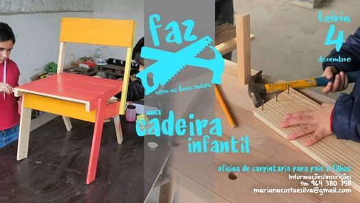 Workshop FAZ uma cadeira infantil, 27 March   Event in Caldas Da Rainha   AllEvents.in