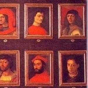 Passeggiata con la famiglia Medici