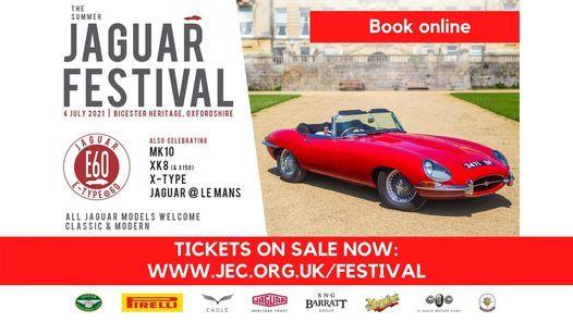 Summer Jaguar Festival 2021, 4 July   Event in Buckingham   AllEvents.in