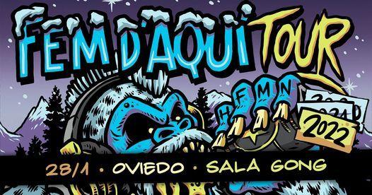 CRIM ✘ LaInquisición ✘ Deadyard 13/03/2021 Fem D'Aquí TOUR - Uviéu, 13 March   Event in Oviedo   AllEvents.in