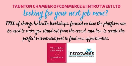 LinkedIn Workshop for Job Seekers with Social Media experts Introtweet Ltd, 5 May | Online Event | AllEvents.in