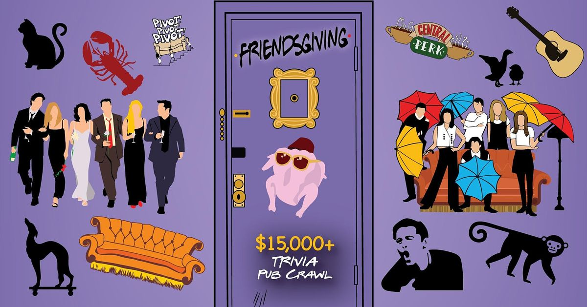 Dayton - Friendsgiving Trivia Pub Crawl - $15,000+ IN PRIZES!, 20 November | Event in Dayton | AllEvents.in