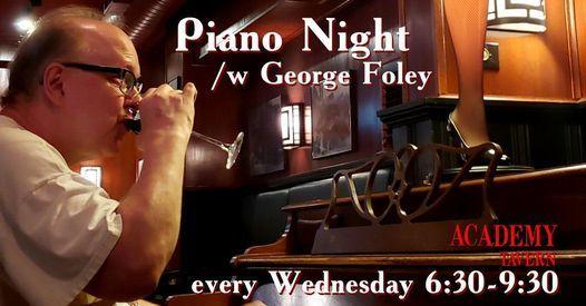 Piano Night w George Foley