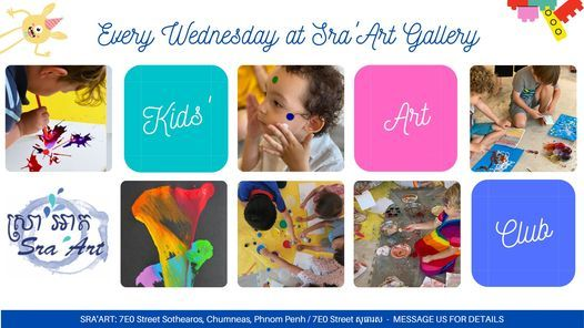 Kids' Art Club, 19 May | Event in Phnom Penh | AllEvents.in
