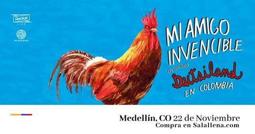 Mi Amigo Invencible en Medelln  Rockal.Live