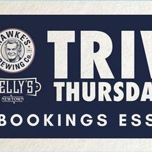 Trivia  Kellys - 26th November