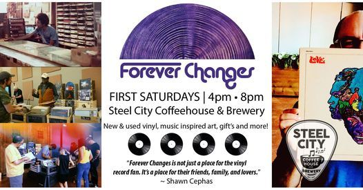 FOREVER CHANGES POP-UP NEW & VINTAGE VINYL RECORDS, 6 February | Event in Phoenixville | AllEvents.in