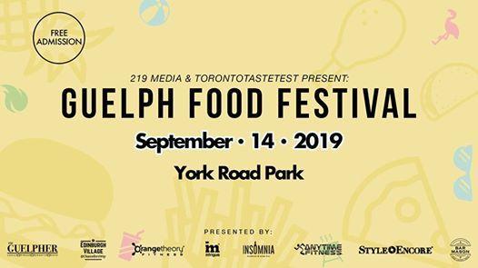Guelph Food Festival  2019