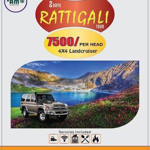 03 Days Ratti- Galli Lake Adventure (4x4 Jeep Package)