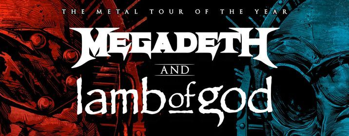 Megadeth & Lamb of God at Resch Center, Green Bay, WI, 3 August   Event in Green Bay   AllEvents.in