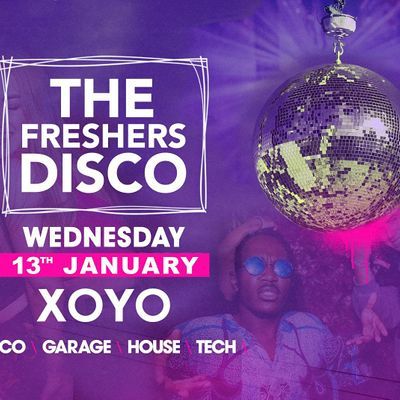 The London Freshers Disco at XOYO