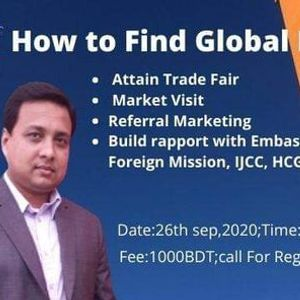 Half day training on How to Find Global Buyers (Off line)
