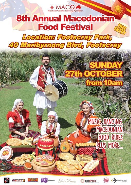 The 8th Annual Macedonian Food Festival