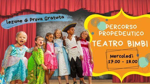 Percorso Propedeutico di Teatro per Bambini   Event in Florence   AllEvents.in