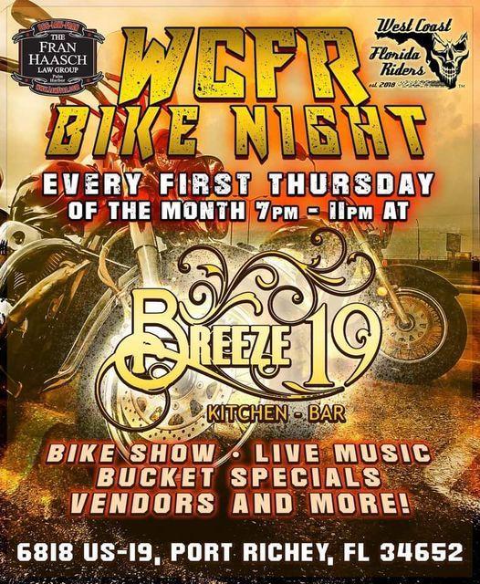 WCFR Bike Night, 5 November | Event in New Port Richey | AllEvents.in