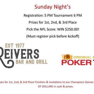 OBPT Sunday Night In-Person Poker Tournament