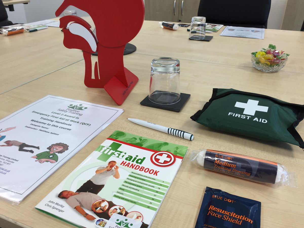 Level 3 Award in First Aid at Work (RQF) - 3 Day course