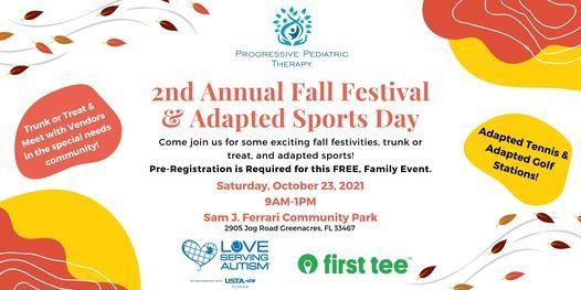 2nd Annual Fall Festival & Adapted Sports Day, 23 October   Event in Boynton Beach   AllEvents.in