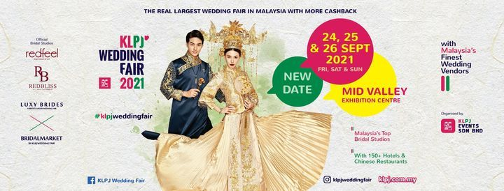 KLPJ Wedding Fair: 28-30 May 2021 @ Mid Valley Exhibition Centre KL, 28 May | Event in Kuala Lumpur | AllEvents.in