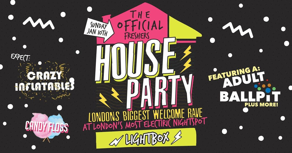 The Official London Freshers House Party - Sold Out Every Year!, 6 June | Event in London | AllEvents.in