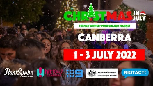 Christmas In July Market - Canberra 2022, 1 July | Event in Canberra | AllEvents.in