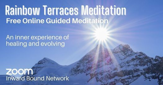 Rainbow Terraces Meditation with Gay Vickers, 30 July   Online Event   AllEvents.in