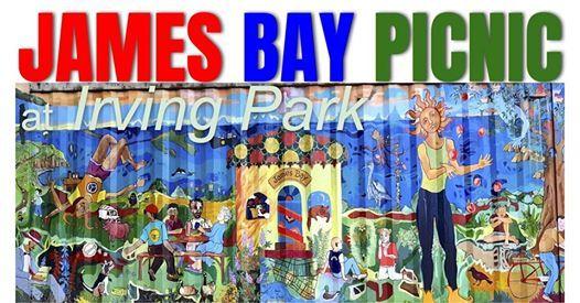 James Bay Picnic at Irving Park