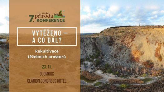 7. konference Naše příroda: Vytěženo – a co dál? Rekultivace těžebních prostorů, 23 November   AllEvents.in