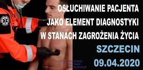 Szczecin - seminarium osuchiwanie pacjenta.
