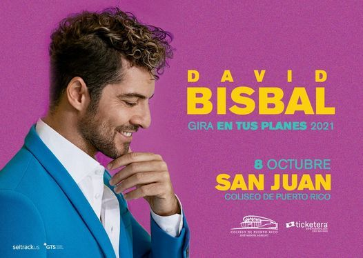 David Bisbal, 8 October | Event in San Juan | AllEvents.in