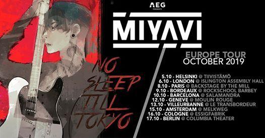 Miyavi Live At Islington Assembly Hall London London