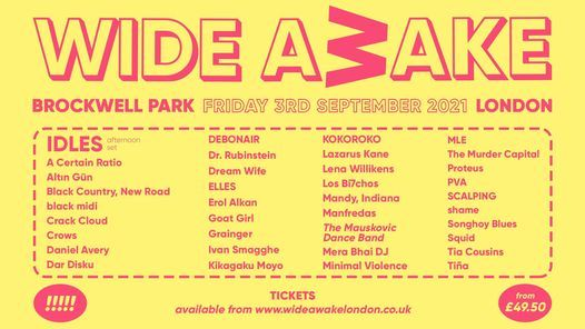 Wide Awake Festival 2021, 3 September   Event in Bromley   AllEvents.in