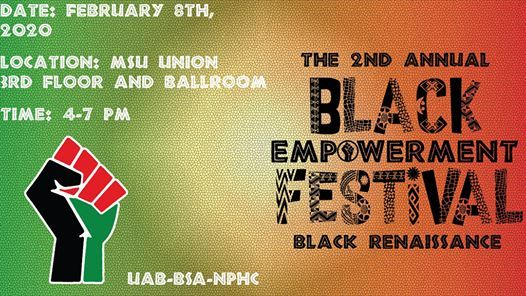 Msu Halloween Party 2020 Uab 2nd Annual Black Empowerment Festival, MSU Union Michigan State