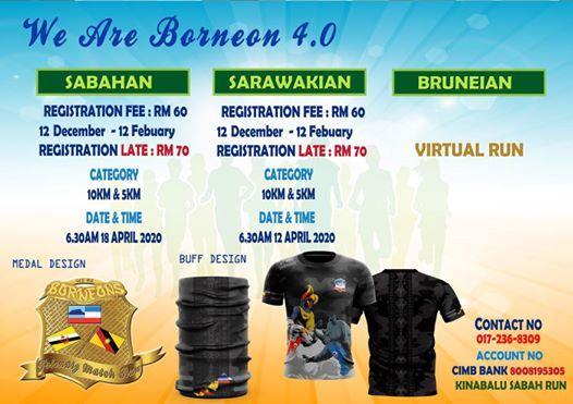 WE ARE Borneon 4.0 (Kuching Sarawak)