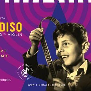 Autocinema Concert  Cinema Paradiso a piano y violn CDMX