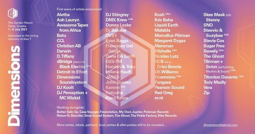 Dimensions Festival 2021, 1 July | Event in Rijeka | AllEvents.in