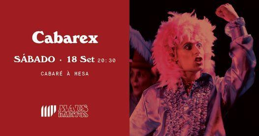 Cabaré à Mesa   CABAREX, 18 September   Event in Porto   AllEvents.in