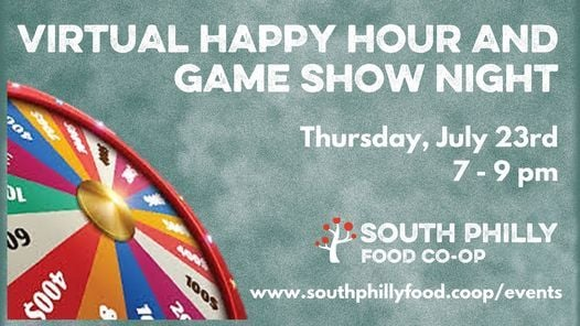 Virtual Happy Hour and Game Show Night