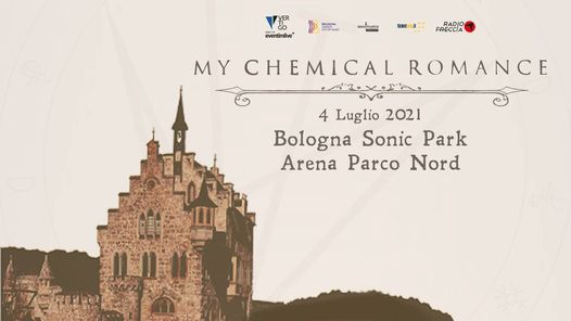 My Chemical Romance | Bologna Sonic Park 2021, 4 July | Event in Bologna | AllEvents.in