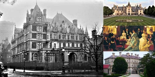 'The Vanderbilts: One of Gilded Age America's Most Powerful Families, 24 March | Online Event | AllEvents.in