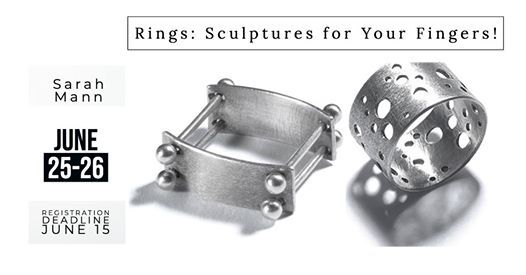 Rings Sculptures for Your Fingers