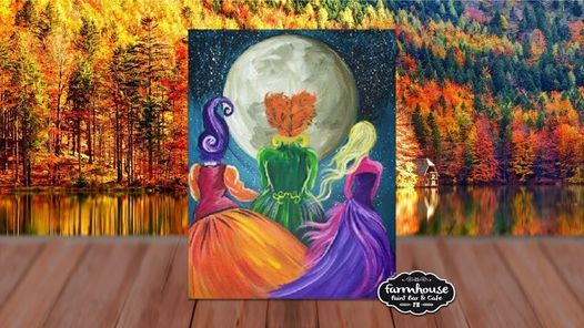 Hocus Pocus - Step by Step Painting Class | Online Event | AllEvents.in