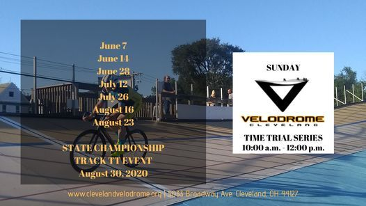 Cleveland Velodrome 2020 Time Trial Series