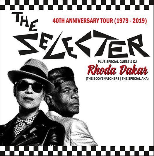 The Selecter 40th Anniversary Tour (1979-2019)  Unsteady & DJ Rhoda Dakar at The Casbah - San Diego