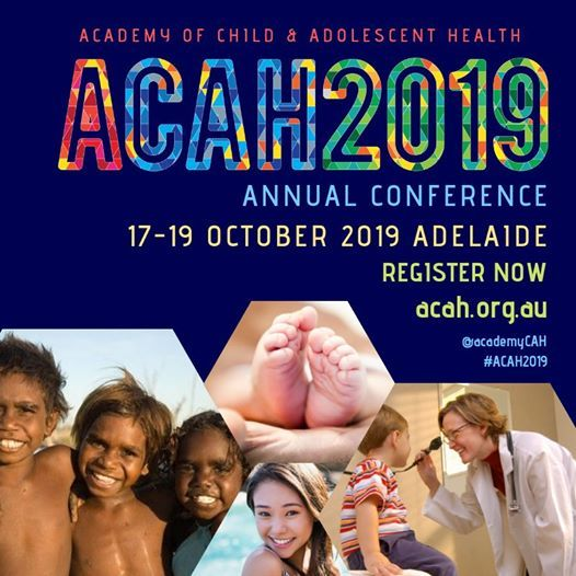 ACAH 2019 Conference (Academy of Child and Adolescent Health) at