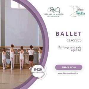 Dance Motion BB Ballet Dance class