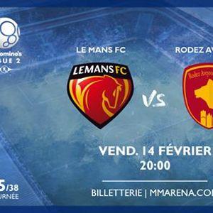 Le Mans FC - Rodez Aveyron