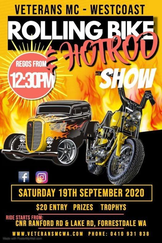 Rolling Bike & Hot Rod Show 2020