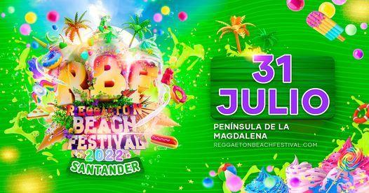 Reggaeton Beach Festival 2022 (Santander), 31 July   Event in Santander   AllEvents.in